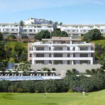 Nieuw project La Cala de Mijas – Horizon Golf appartementen met zicht op golf
