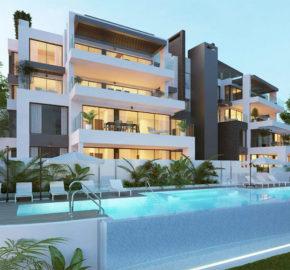 Aqualina appartementen en Penthouses in Benahavis