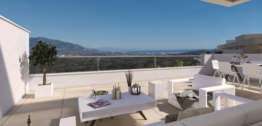 Harmony appartementen en penthouses op La Cala Golf resort – Mijas Costa